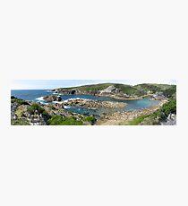 Panorama of Kianinny Bay, Tathra, Australia Photographic Print