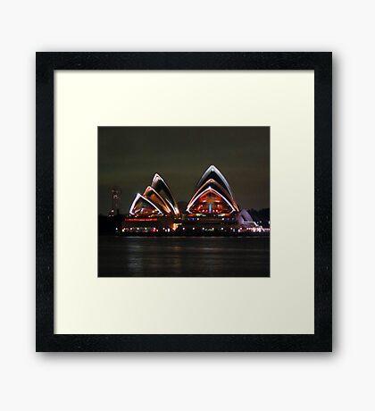 Opera House SYDNEY HARBOUR Framed Print