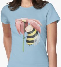 Sleepy Bee Womens Fitted T-Shirt