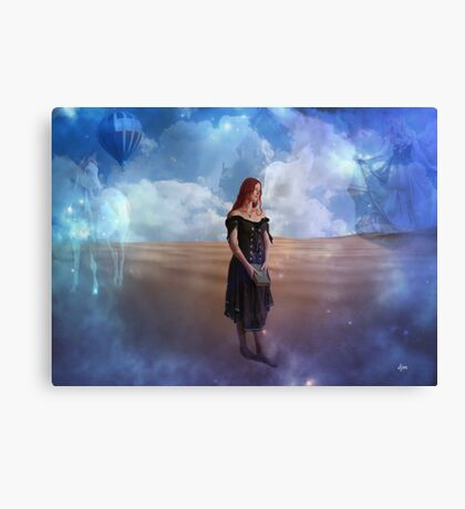 Dare To Loose Yourself Canvas Print