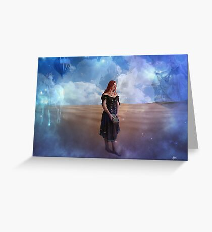 Dare To Loose Yourself Greeting Card