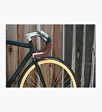 Fixed Gear Photographic Print
