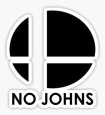 No Johns  Sticker