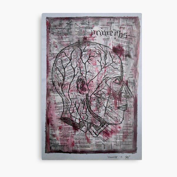'Proverbs' Metal Print