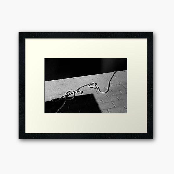 The Hanging Rope Framed Art Print
