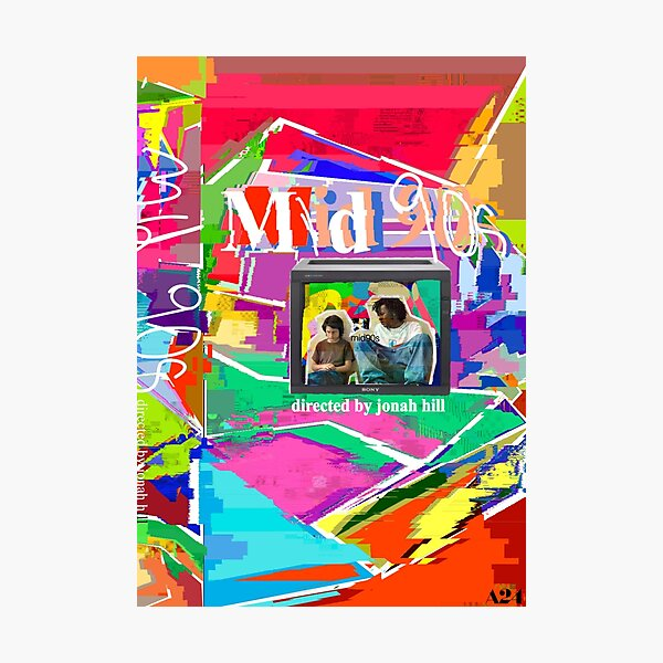 mid 90s poster Photographic Print