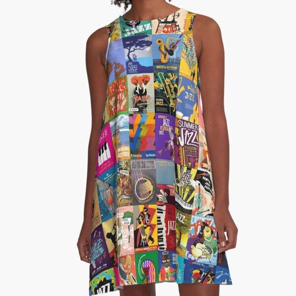 Jazz Festivals A-Line Dress
