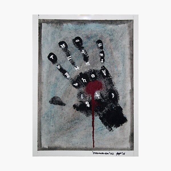 'Stigmata-ism' (R) Photographic Print