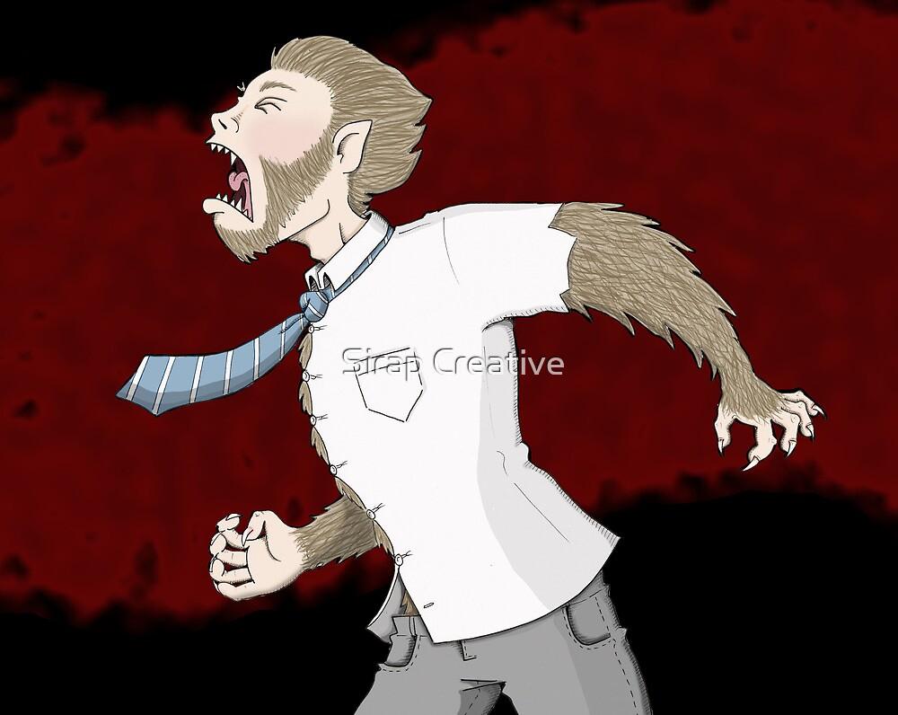 Werewolf by MissIllustrator