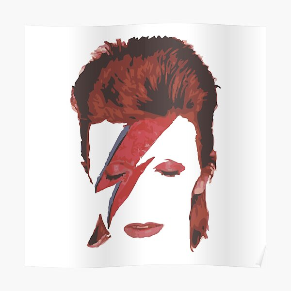 Legend, Bowie-Merch Poster