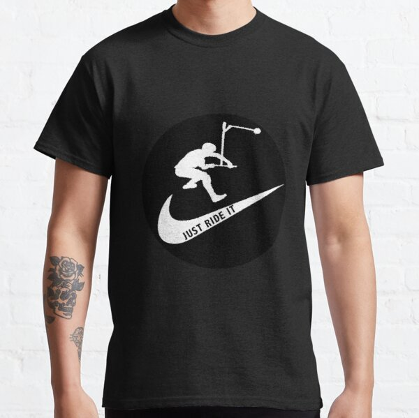 Pro Scooter - Free Rider - Stunt Scooter shirts - Pro Rider T shirt - Scooter Tricks Hoodie - Stickers Classic T-Shirt