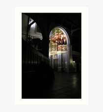 Moreau-orgel St. Janskerk Gouda from another Point of View Art Print