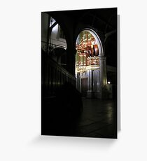 Moreau-orgel St. Janskerk Gouda from another Point of View Greeting Card