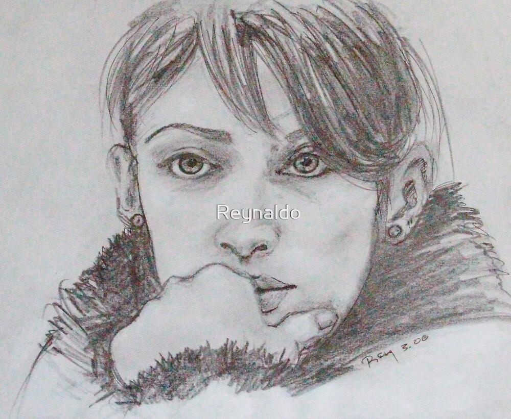 Study for Those Green Eyes by Reynaldo