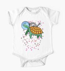 Ozone Sam The Space Turtle T-Shirt Baby Body Kurzarm