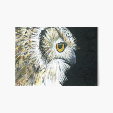 Eagle Owl Art Board Print