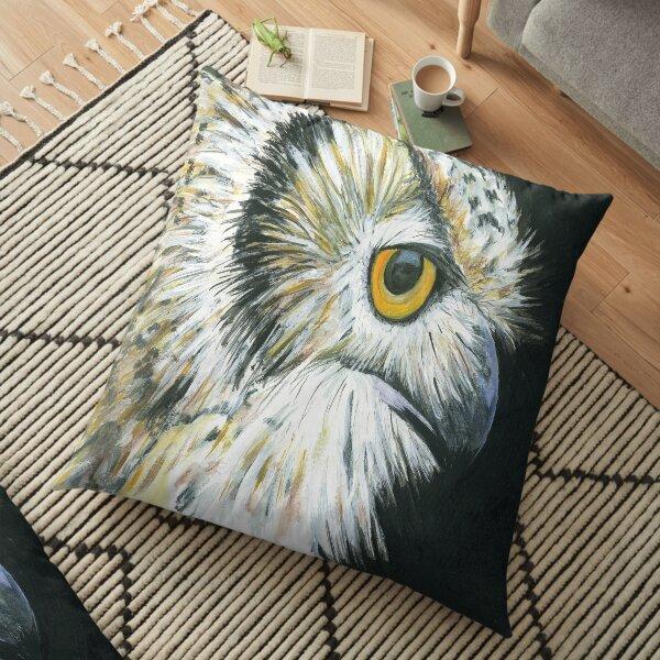 Eagle Owl Floor Pillow