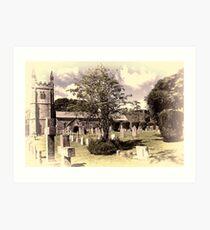 Lydford Church Art Print