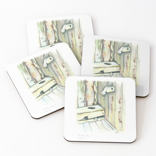 The Panic Room Coasters (Set of 4)