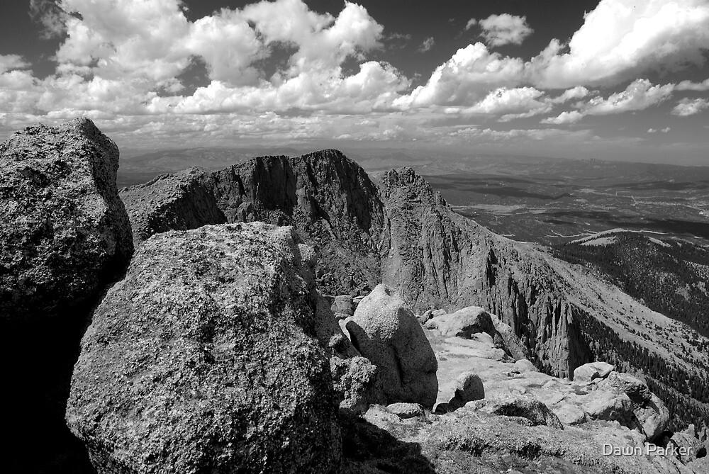 Pikes Peak Overlook by Dawn Parker