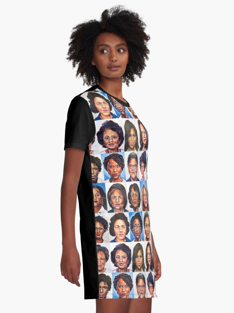 Alternate view of Sheroes Rise Graphic T-Shirt Dress