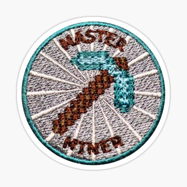 Master Miner Patch Sticker