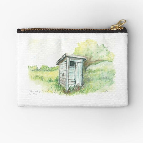 The Call of Nature Zipper Pouch