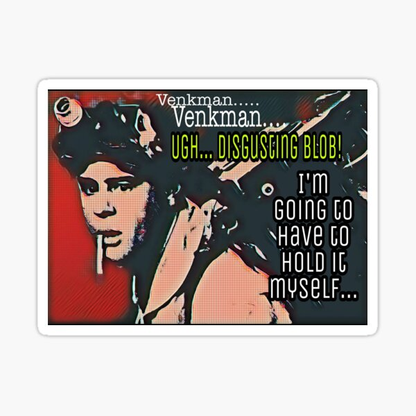 DISGUSTING BLOB!  Sticker