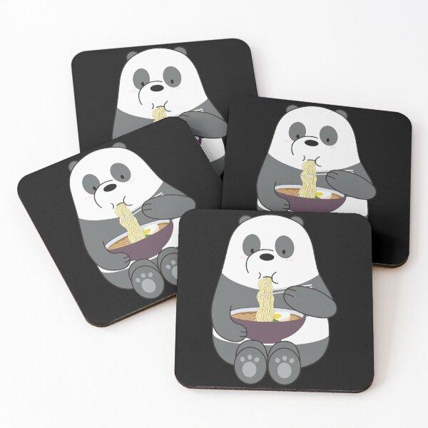 Panda Coasters (Set of 4)