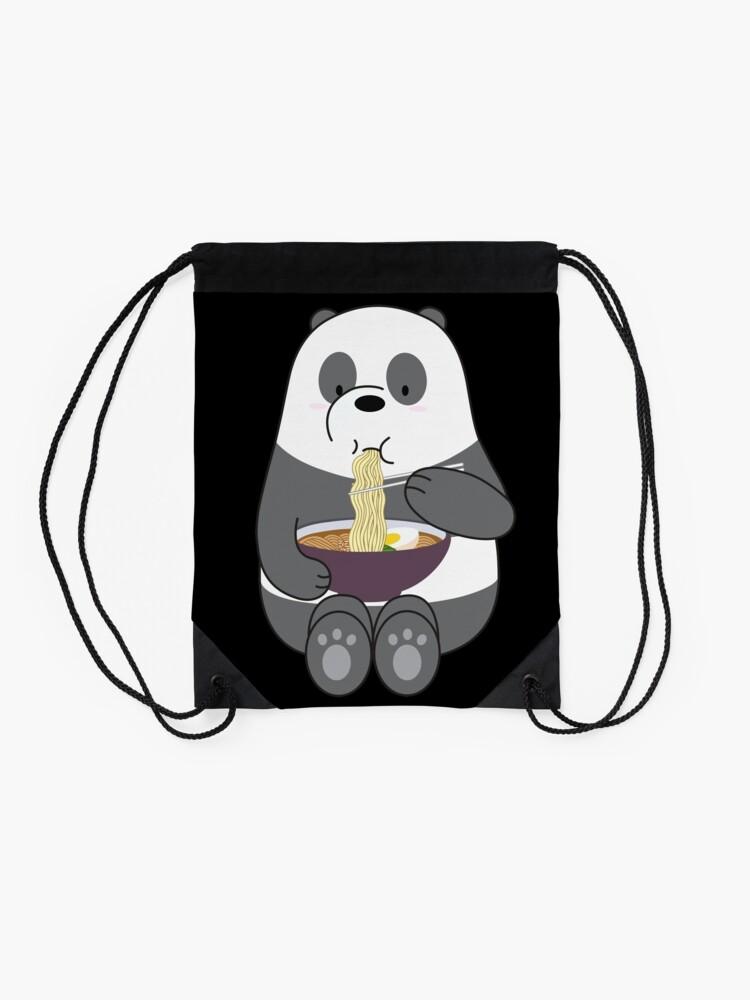 Alternate view of Panda Drawstring Bag