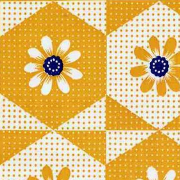 Retro 70's Flowers by BettyBanana