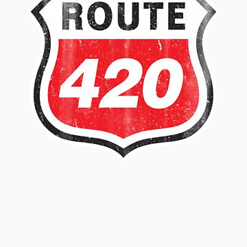 Vintage Route 420 by colorhouse