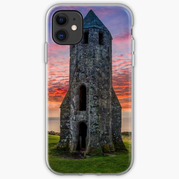 Sunset At St Catherines Oratory The Pepperpot iPhone Soft Case