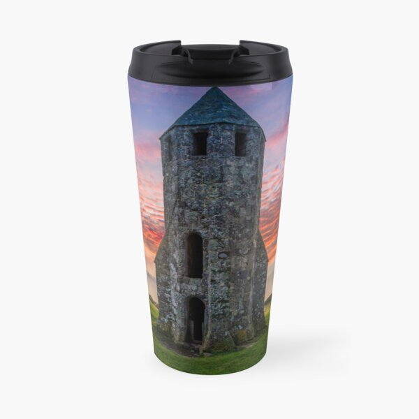 Sunset At St Catherines Oratory The Pepperpot Travel Mug