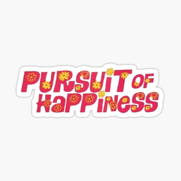 Kid Cudi Pursuit Of Happiness Sticker