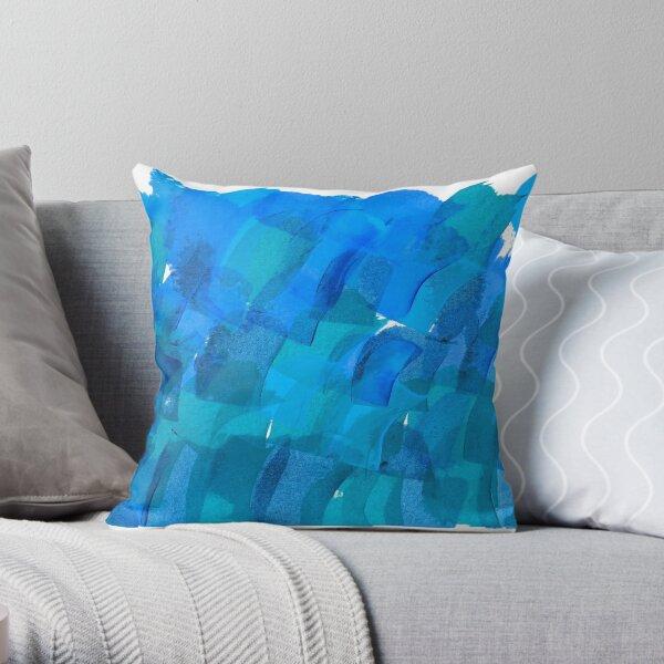 I am the ocean Throw Pillow