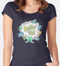 Rockin' it! Women's Fitted Scoop T-Shirt