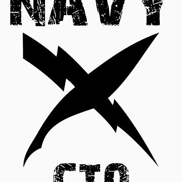 US Navy CTO Insignia - Black by courson