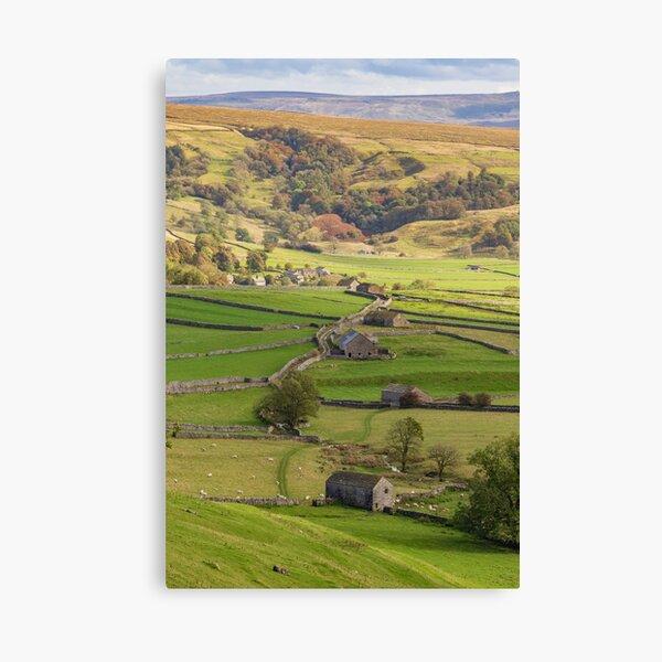 Malham barns Canvas Print
