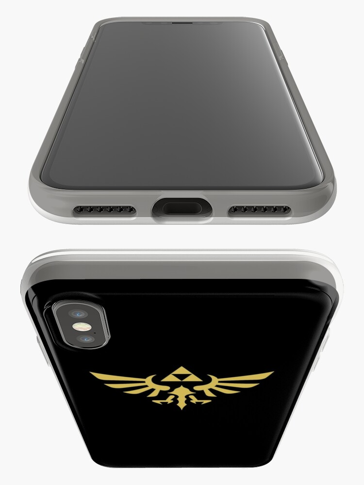 Alternate view of The Legend of Zelda Royal Crest (gold) iPhone Case & Cover