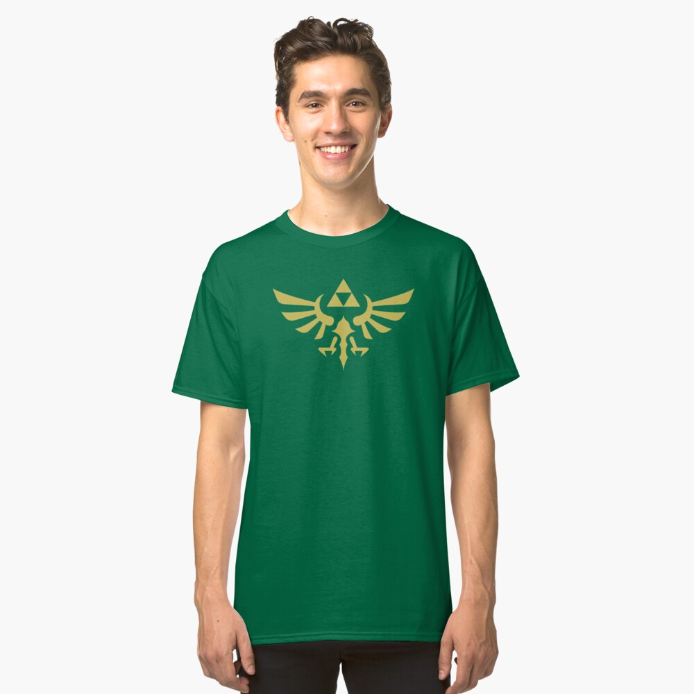 The Legend of Zelda Royal Crest (gold) Classic T-Shirt