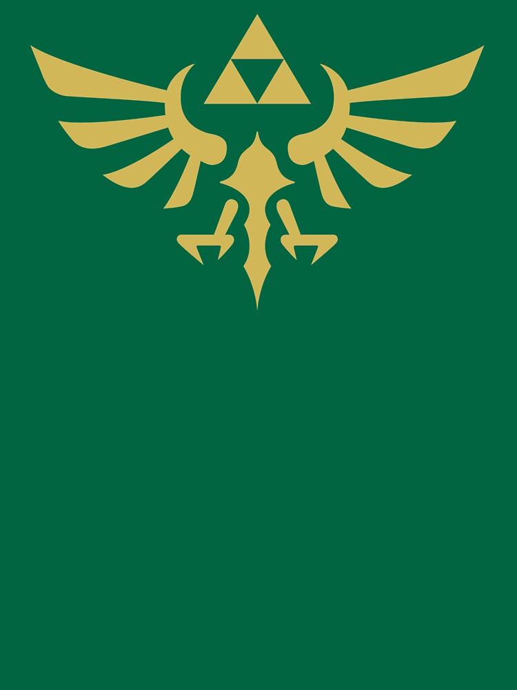 The Legend of Zelda Royal Crest (gold) | Unisex T-Shirt