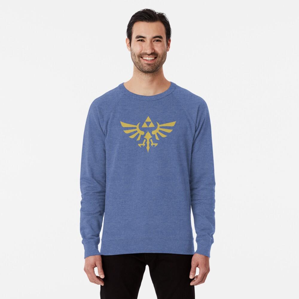 The Legend of Zelda Royal Crest (gold) Lightweight Sweatshirt