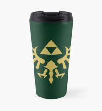 The Legend of Zelda Royal Crest (gold) Travel Mug