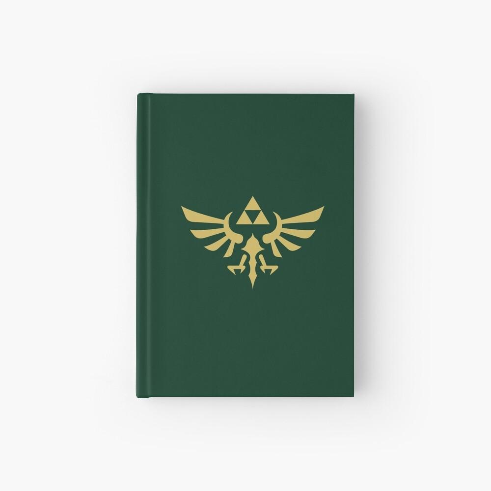 The Legend of Zelda Royal Crest (gold) Hardcover Journal