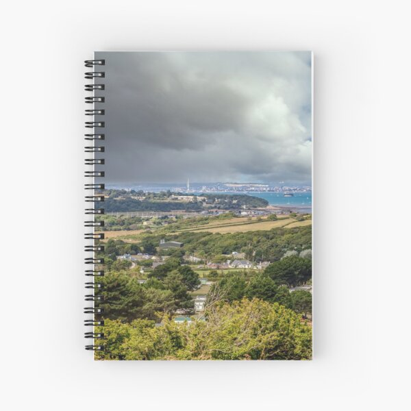 Whitecliff Bay Holiday Park 2 Spiral Notebook