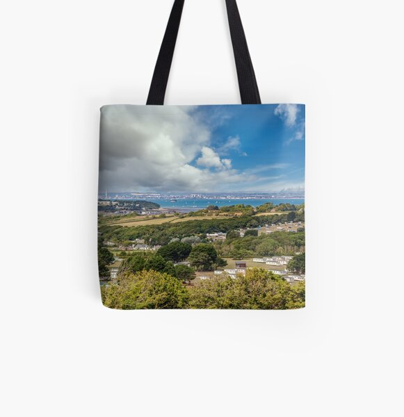 Whitecliff Bay Holiday Park 2 All Over Print Tote Bag