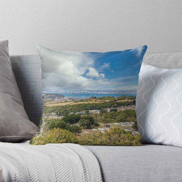Whitecliff Bay Holiday Park 2 Throw Pillow