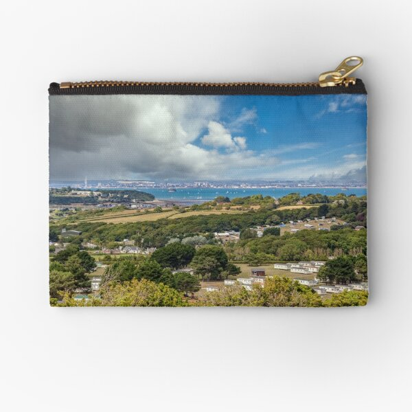 Whitecliff Bay Holiday Park 2 Zipper Pouch
