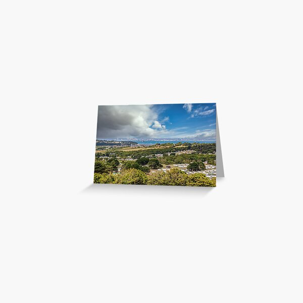 Whitecliff Bay Holiday Park 2 Greeting Card